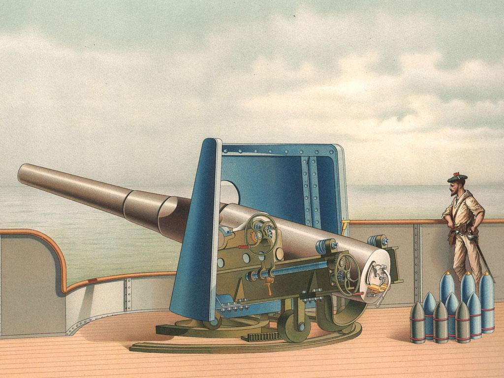 Affiche publicitaire Schneider pour tourelle