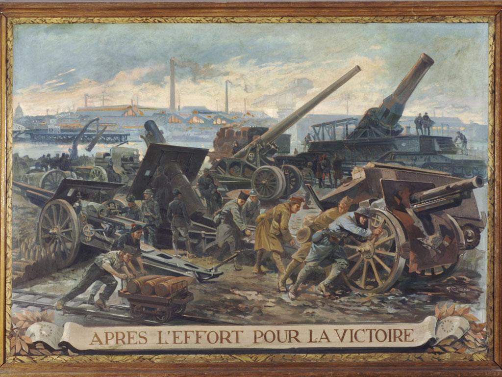 1919 - G Conrad - après l'effort pour la victoire