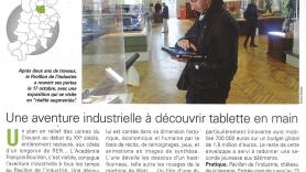 """Article du magazine """"L'actu Creusot-Montceau"""" de novembre-décembre 2015"""